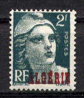 ALGERIE - N° 237** - TYPE MARIANNE DE MULLER - Algérie (1924-1962)