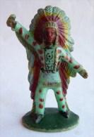 Figurine CYRNOS INDIEN IND III 3 CHEF POIGNARD 2 60's Pas Starlux Clairet Incomplet - Starlux