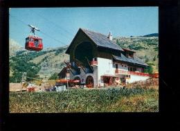 SERRE CHEVALIER Hautes Alpes 05 : CHANTEMERLE  1969 Station Téléphérique Cabine Téléférique Bar Restaurant - Serre Chevalier