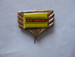 Pin New Hudson Motor-Cycle Great Britain (GA03554) - Motorfietsen
