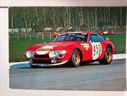 Cart - RALLYE - Auto -Ferrari GTB. - Cartoline