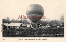 PARIS - Aerodrome De La Porte Maillot - Dos Vierge  -  2 Scans - Distrito: 16