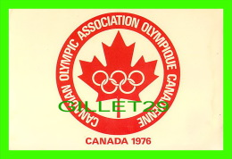JEUX OLYMPIQUES - CANADIAN OLYMPIC ASSOCIATION 1976- ASSOCIATION OLYMPIQUE CANADIENNE - - Jeux Olympiques