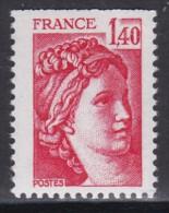 2102Sabine 1f40 Rouge (provenant De Carnet) - 1977-81 Sabina Di Gandon