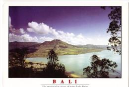 BALI, The Spectacular Views Of Misty Lake Batur, Unused Postcard [14470] - Indonesia