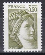 2121Sabine 3f50 Vert-olive - 1977-81 Sabina Di Gandon