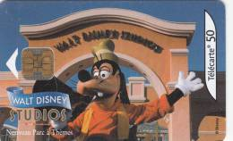 FRANCE - Euro Disney/Walt Disney Studios-Goofy, 04/02, Used - Disney