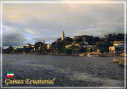 1 AK  �quatorialguinea Equitorial Guinea * Ansicht der Stadt Cogo - sie liegt auf d. Festlandsteil Mbini fr�her Rio Muni