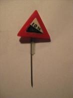 Pin Verkeersbord (GA05193) - Police