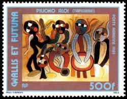 WALLIS ET FUTUNA 1985 - Yv. PA 143 ** SUP  Faciale= 4,19 EUR - Tapisserie 'Pilioko Aloi ..Réf.W&F21608 - Neufs