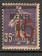 Timbres - Allemagne - Etranger - Memel - 15 Pf. - - Memel (Klaïpeda)