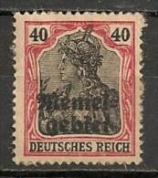 Timbres - Allemagne - Etranger - Memel - 40 Pf. -