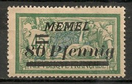 Timbres - Allemagne - Etranger - Memel - 80 Pf. -