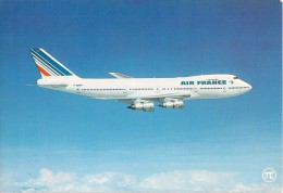 BOEING 747 AIR FRANCE - 1946-....: Era Moderna