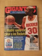 GIGANTES DEL SUPERBASKET, 520, 23-10-1995. REAL MADRID, ROCKETS, BASKONIA. - Revistas & Periódicos