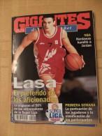 GIGANTES DEL SUPERBASKET, 525, 27-11-1995. JOSE LASA, BALONCESTO LEON. - Revistas & Periódicos