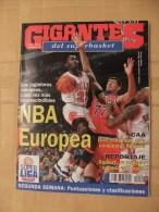 GIGANTES DEL SUPERBASKET, 526, 04-12-1995. MICHAEL JORDAN, CHICAGO BULLS. - Revistas & Periódicos