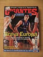 "GIGANTES DEL SUPERBASKET, 529, 25-12-1995. BARCELONA, REAL MADRID. SHAQUILLE O´NEAL. ""EPI"". - Revistas & Periódicos"