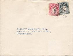 Ireland CURRAGH 11926 Cover Lettre To Denmark (2 Scans) - 1922-37 Irischer Freistaat