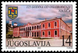 Yugoslavia - 2002 - ( Liberation Of Niskic, 125th Anniv. ) - MNH (**) - 1992-2003 Repubblica Federale Di Jugoslavia
