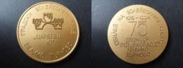 MEDAILLE 1919 1994 A IDENTIFIER - BULGARIE ? RUSSIE ? PAYS DE L EST ? 50 Mm - Tokens & Medals