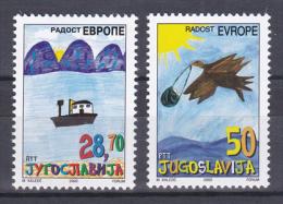 Yugoslavia - 2002 - ( Children's Art ) - MNH (**) - 1992-2003 Repubblica Federale Di Jugoslavia