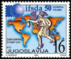 Yugoslavia - 2002 - ( Intl. Federation Of Stamp Dealers Associations, 50th Anniv. ) - MNH (**) - 1992-2003 Repubblica Federale Di Jugoslavia