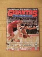 GIGANTES DEL SUPERBASKET, 541, 12-03-1996. REAL MADRID, BARCELONA. MAGIC JOHNSON, MICHAEL JORDAN. - Revistas & Periódicos