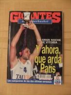 GIGANTES DEL SUPERBASKET, 542, 19-03-1996. TAUGRES VITORIA. - Revistas & Periódicos