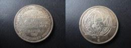 MEDAILLE XIII CHAMPIONNAT DU MONDE GYMNASTIQUE RYTHMIQUE ET SPORTIVE GRS BULGARIE - RUBAN - 38 Mm - Entriegelungschips Und Medaillen