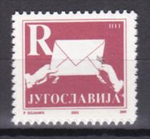 Yugoslavia - 2002 - ( Definitive ) - MNH (**) - 1992-2003 Repubblica Federale Di Jugoslavia