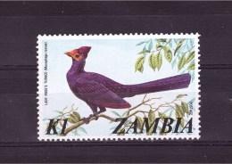 ZAMBIA  1975 Touraco De Lady Ross Yvert Cat. N° 145  Mint Never Hinged ** - Cuckoos & Turacos