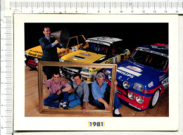 RENAULT  SPORT - 1981  -   Renault  5  ALPINE, Turbo, Et Maxi Turbo -  LANDON - ANDRIE - RAGNOTI -  THIMONIER - Rallyes