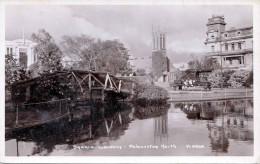 NEW ZEALAND Square Gardens - Palmerstone North, Fotokarte Um 1930 - Neuseeland