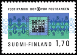 Finland - 1987 - ( Postal Savings Bank Cent. ) - MNH (**) - Ungebraucht