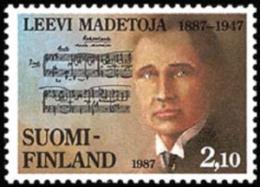 Finland - 1987 - ( Leevi Madetoja (1887-1947), Composer ) - MNH (**) - Ungebraucht