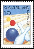 Finland - 1987 - ( 1987 World Bowling Championships ) - MNH (**) - Ungebraucht