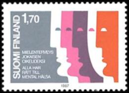Finland - 1987 - ( Mental Health ) - MNH (**) - Ungebraucht