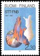 Finland - 1987 - ( Finnish News Agency (STT), Cent. ) - MNH (**) - Ungebraucht