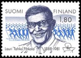 "Finland - 1988 - ( Lauri ""Tahko"" Pihkala ) - MNH (**) - Ungebraucht"