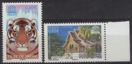 Service 134-135 - UNESCO Tigre De Sibérie - Luang Prabang  Neuf** (2006) - Nuovi