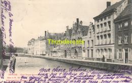 CPA BRUGGE BRUGES ALBERT SUGG SERIE 11 N 103 QUAI SAINTE ANNE - Brugge