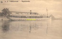 CPA  S S MERCATOR RUPELMONDE STTOMVAART STOOMBOOT - Ferries