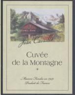 THEME DIVERS étiquette De Vin CUVÉE DE LA MONTAGNE - Bergen