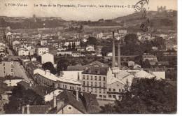 CP - LYON  - VAISE - LA RUE DE LA PYRAMIDE - FOURVIERE - LES CHARTREUX - C. B. - - Autres