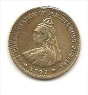 1897 : COMMEMORATION OF H. M. DIAMOND JUBILEE : BARRATT AND CO_ S. - Altri