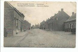 Ste-Katelijne Waver-Statiestraat. Wavre Ste-Catherine-Rue de la Station.