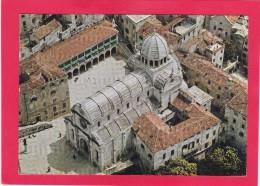Multi View Postcard Of Cathedral, Sibenik, Sibenik-Knin, Croatia, B15. - Yugoslavia