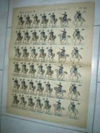 $$$ 32 LANCIERI ITALIANI Soldatini Da Ritagliare - Figurines