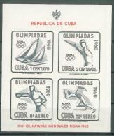 CUBA - 1960 OLYMPIC GAMES M/S - Ungebraucht
